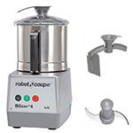 Robot Coupe BLIXER4 Vertical Commercial Blender Mixer w/ 4.5-qt Capacity & 1-Speed, Stainless