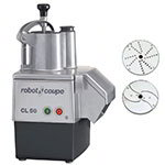 Robot Coupe CL50E 1-Speed Cutter Mixer Food Processor w/ Side Discharge, 120v