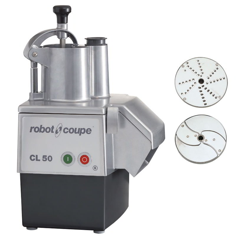 Robot Coupe CL50E Commercial Food Processor w/ Continuous Feed - Single Speed, 120v