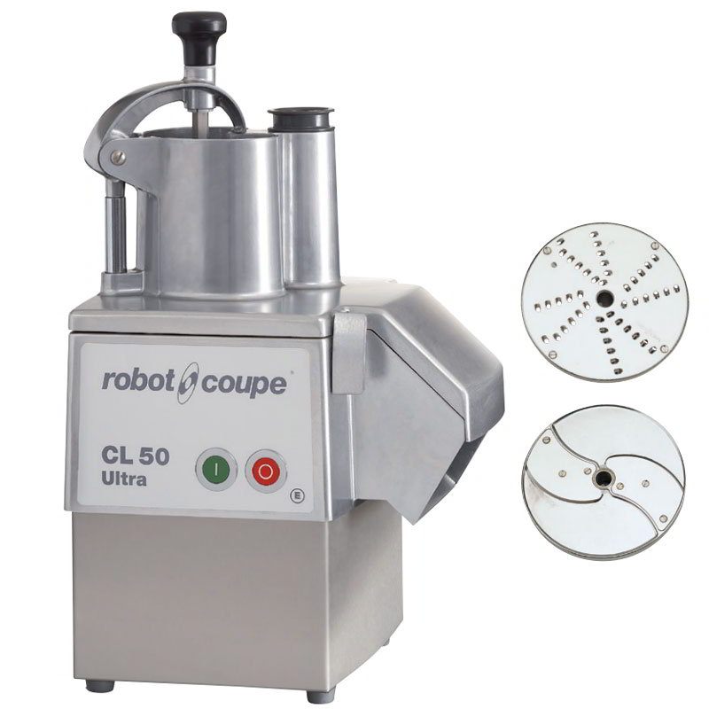 Robot Coupe CL50EULTRA 1-Speed Cutter Mixer Food Processor w/ Side Discharge, 120v