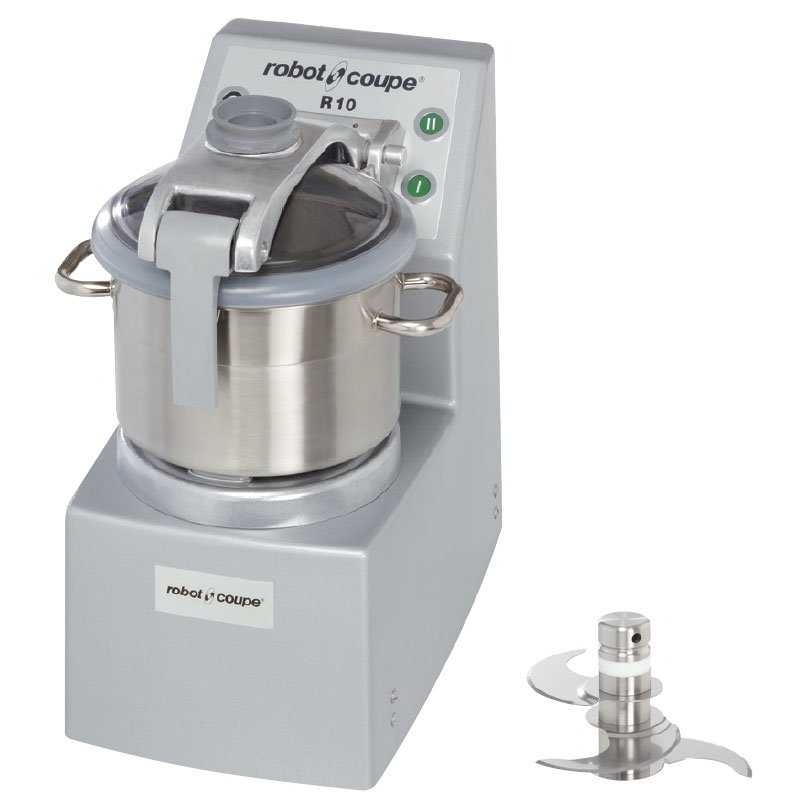Robot Coupe R10ULTRA Vertical Cutter Mixer w/ 10-qt Bowl, 3.5-qt Mini Bowl & Bench-Style