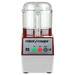 Robot Coupe R2BCLR Cutter Mixer w/ 3-qt Clear Bowl, Smooth Edge S-Blade & 1-Speed