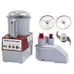 Robot Coupe R2N 3-qt Commercial Food Processor w/ Gray Bowl - Continuous Feed, 120v