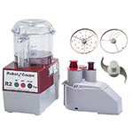Robot Coupe R2N CLR 3-qt Commercial Food Processor w/ Clear Bowl - Continuous Feed, 120v
