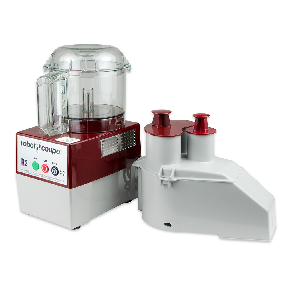 Robot Coupe R2N CLR 1-Speed Cutter Mixer Food Processor w/ 3-qt Bowl, 120v