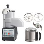 Robot Coupe R301U 1-Speed Continuous Feed Food Processor w/ Side Discharge & 3-qt Bowl, 120v