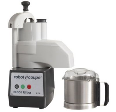 Robot Coupe R301 ULTRA Combination Food Processor w/ 3.5-qt Stainless Bowl & Single Speed