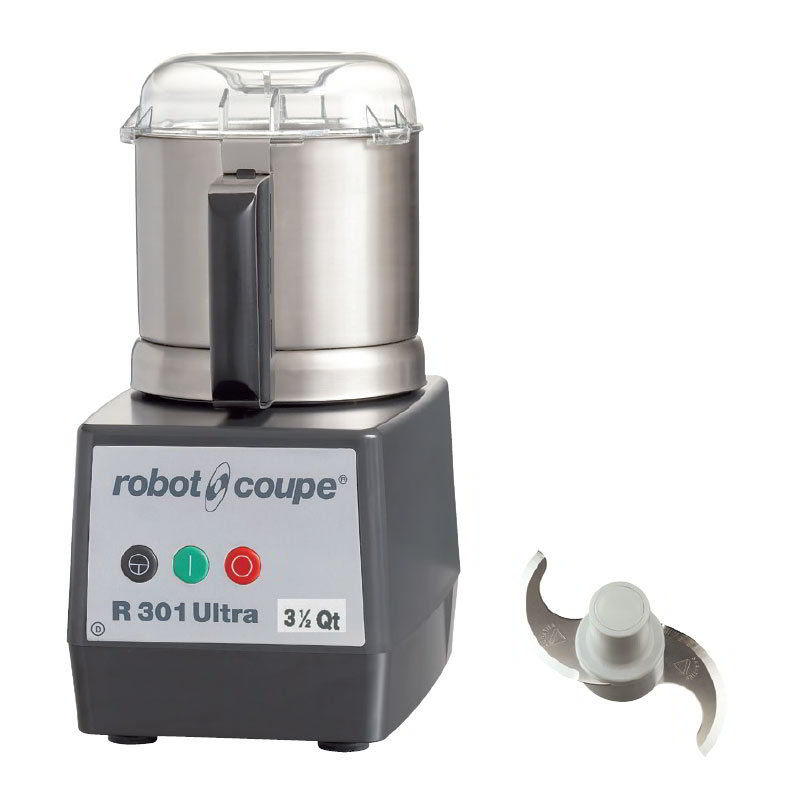 Robot Coupe R301ULTRAB 1-Speed Cutter Mixer Food Processor w/ 3.5-qt Bowl, 120v