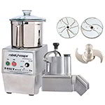 Robot Coupe R602VC Variable Speed Continuous Feed Food Processor w/ Side Discharge, 120v
