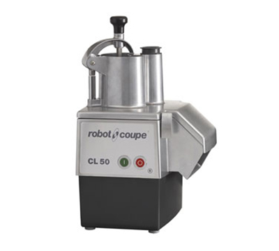 Robot Coupe CL50E Commercial Food Processor w/ Grating Disc, Slicing Disc & Poly Base