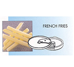 Robot Coupe 28135 French Fry Set for CL-Series, 10x10-mm