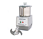 Robot Coupe R602Y Cutter Mixer w/ 7-qt Stainless Bowl Attachment & 1-Speed