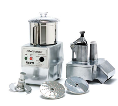 Robot Coupe R602VC Commercial Food Processor w/ Computer Controlled Variable Speeds & Two Plates