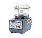 Robot Coupe R101BCLR Combination Food Processor w/ 2.5-qt Clear Cutter Bowl & Direct Drive