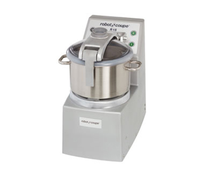 Robot Coupe R15 Vertical Cutter Mixer w/ 15-qt Stainless Bowl & 2-Speedss