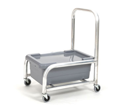 Robot Coupe R198 Food Tray Cart w/ Pan & Lid for Blixer & CL Series