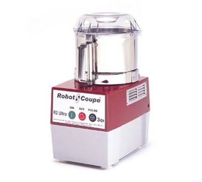 Robot Coupe R2ULTRAB Combination Food Processor w/ 3-qt Stainless Bowl w/ Handle & 1-Speed