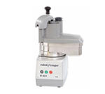 Robot Coupe R401C Commercial Food Processor w/ Stainless Continuous Feed Attachment & 2-Discs