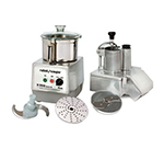 Robot Coupe R502 Combination Food Processor w/ 5.5-qt Stainless Bowl & Continuous Feed Kit