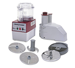 Robot Coupe R2CLRDICE Combination Food Processor w/ 3-qt Clear Bowl, S-Blade & 1-Speed