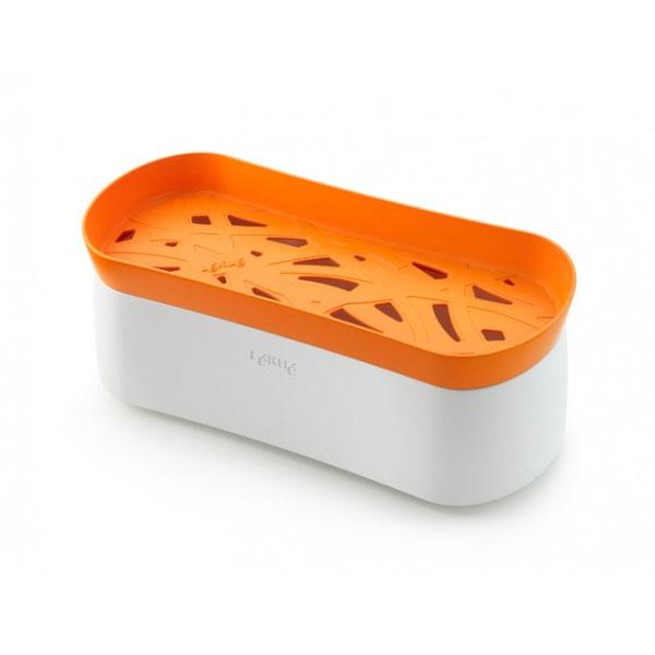 Lekue 0200702N07M017 50-oz Pasta Cooker w/ Lid - White