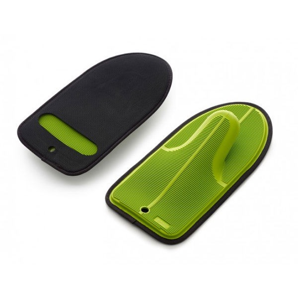 Lekue 0232100V10U045 Neoprene/Silicone Oven Mitt - Green