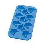 Lekue 0850900Z06C049 Ice Cube Tray - Silicone, Blue