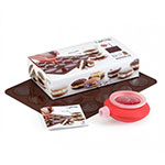Lekue 3000002SURM017 Whoopie Pie Kit - Brown
