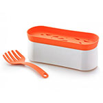 Lekue 3000015SURM017 Silicone Pasta Cooker with Tool