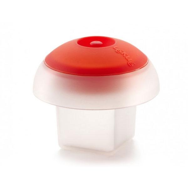 Lekue 3402100B04U008 3.5-oz Egg Cooker - Square, Silicone, Clear