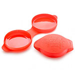 Lekue 3402800R10U008 28-oz Spanish Omelet Cooker - Silicone, Red