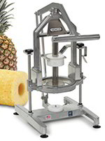 Nemco 55775-1 Pineapple Corer Peeler w/ 4-in Replaceable Blades, Locking Mechanism & Suction Cups
