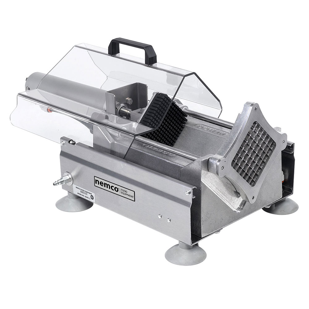 "Nemco 56455-2 Extra Large Potato Cutter w/ .38"" Cut & 720-Potatoes/Hour Capacity, Aluminum"