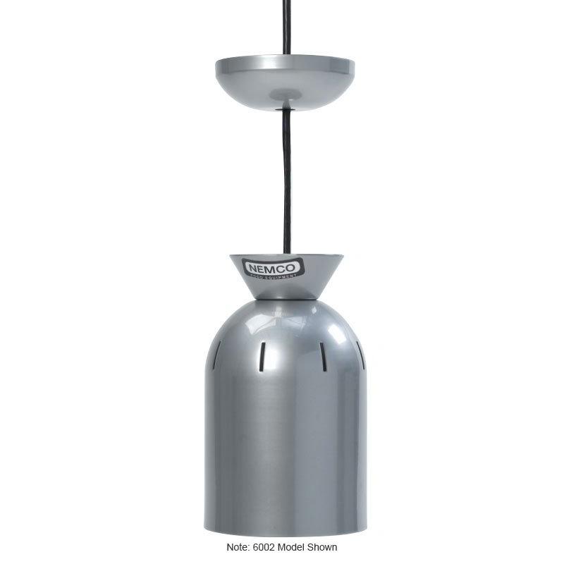 Nemco 6003 Ceiling Mount Heat Lamp w/ Single Bulb & 4-ft Tube, 120/1 V
