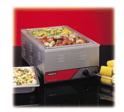 Nemco 6055A-220 Full Size Countertop Warmer Stainless Export Restaurant Supply