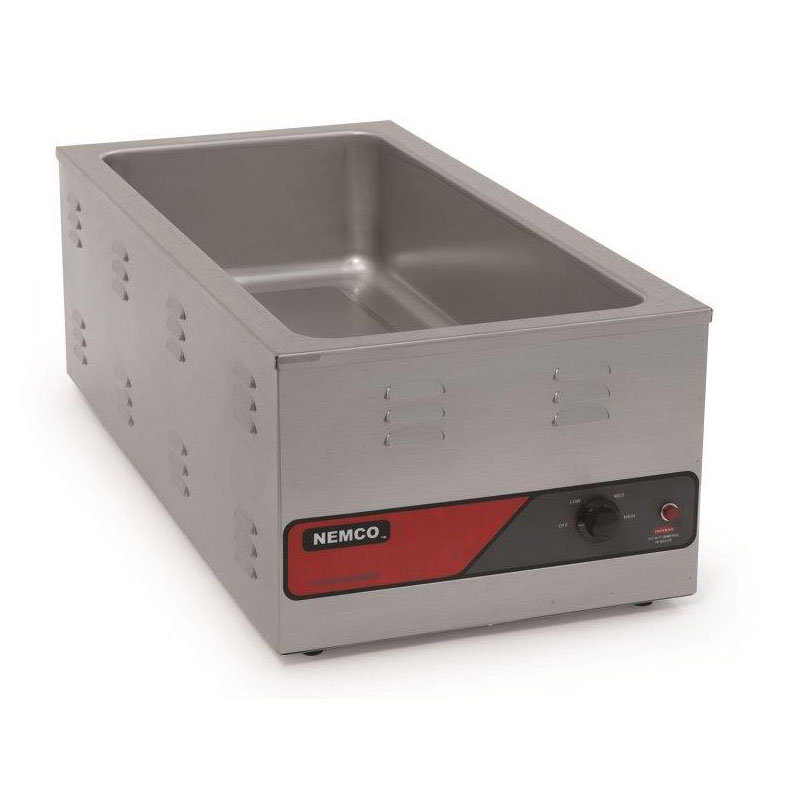 Nemco 6055A-43 Countertop Warmer w/ 1.3-Size Pan Capacity & Infinite Control Thermostat, 120/1V