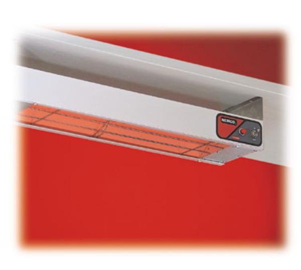 Nemco 6150-48 Infrared Bar Warmer 48 in Aluminum Shell 120 Volt Restaurant Supply