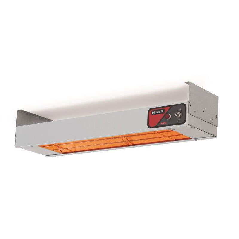 "Nemco 6150-24 Bar Heater w/ Calrod Heating Element & Toggle Switch, 24.25x6.75x2.75"", 120v"