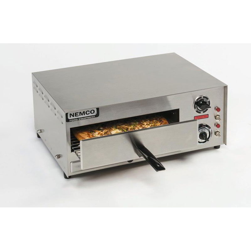 Nemco 6210 Countertop Pizza Oven - Single Deck, 120v