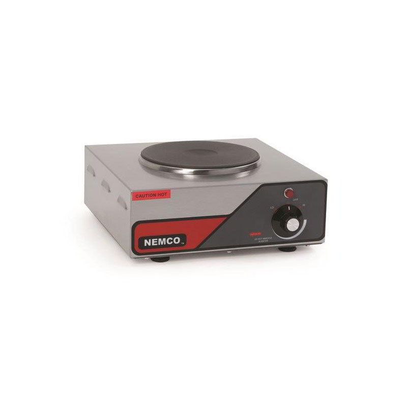 "Nemco 6310-1 Hot Plate w/ Single Burner & 6-Position Temp Control, 5.5x12x13.5"", 120v"