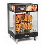 Nemco 6423 Countertop Pretzel Merchandiser - 2-Tier, Revolving, Adjustable Temp 120v