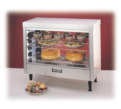 Nemco 6460-2 Deluxe Pass Thru Heated Display - (3) Removable Shelf, 120v