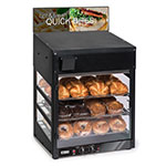 "Nemco 6475 120V 20"" Full-Service Countertop Heated Display Case - (3) Shelves, 120v"