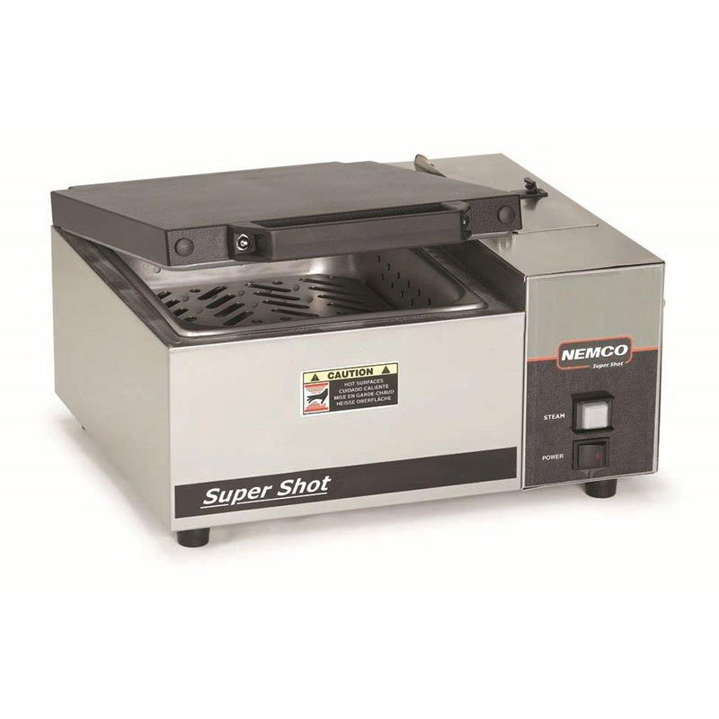 "Nemco 6600 16.5"" Sandwich Steamer w/ Manual Water Fill, 120v"