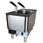 Nemco 6750-240 Countertop Pasta Cooker Boiling Unit - Single Tank, 2.5-gal Capacity, 240v