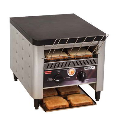 Nemco 6800 Conveyor Toaster - 300-Slices/hr w/ Load-Up Tray, 120v