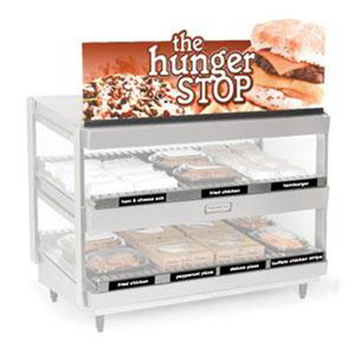 Nemco 68773-30 Dual Shelf Merchandiser Sign Kit For 6480-30 Models