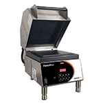 Nemco 6900-240-GF Commercial Panini Press w/ Aluminum Grooved Top/Smooth Bottom Plates, 240v/1ph