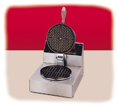 Nemco 7000-S240 Single Non-Stick Waffle Baker 7-in Grid Restaurant Supply
