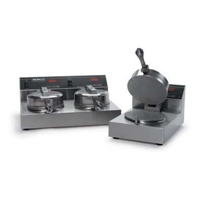 "Nemco 7030-2240 Dual Cone Baker w/ 7"" Fixed Grid & Digital Control, 240/1V, 7.4-amps, Stainless"